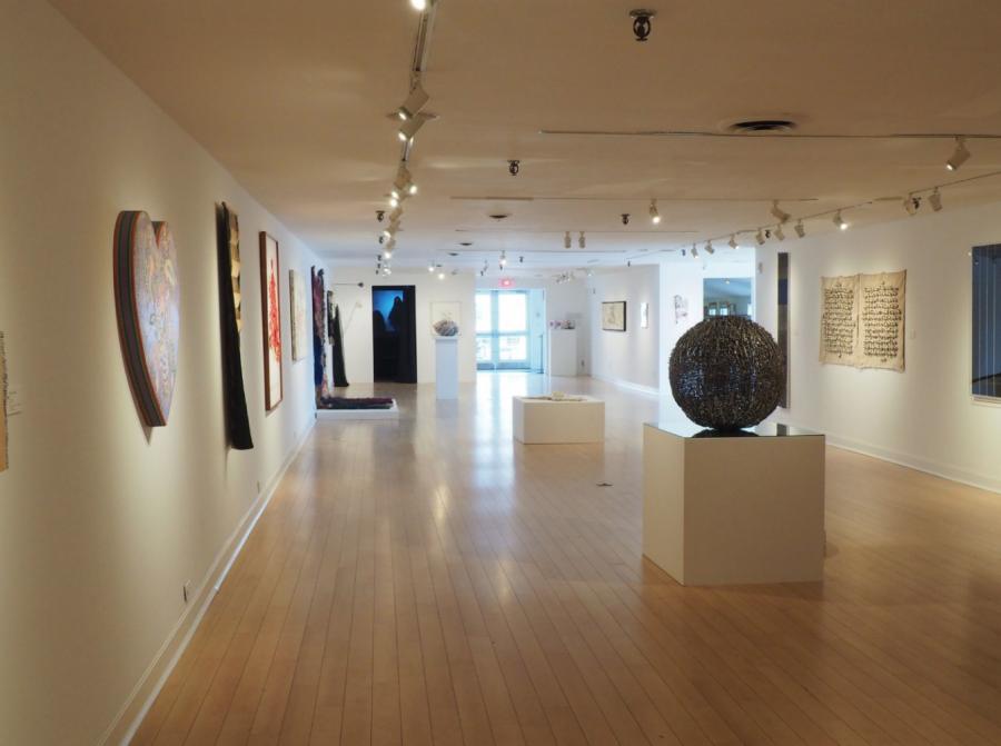 Westport Arts Center showcases unique mixed media instillation