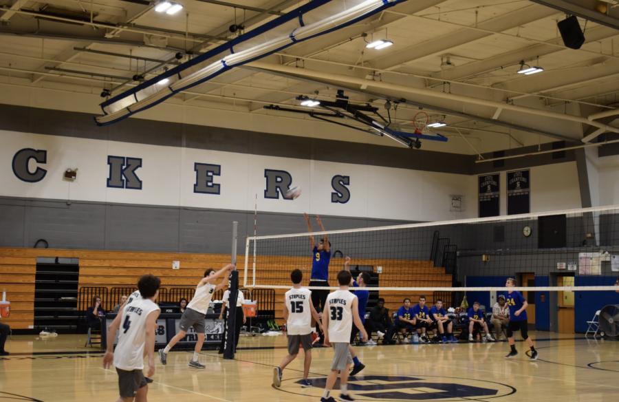 Staples JV Boys Volleyball Wrecks Rockville 2-1