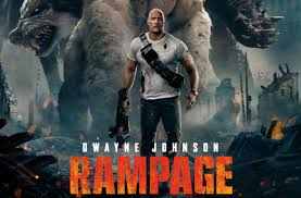 The Rock's charisma fuels a movie that could be considered horrific, brilliant or even both