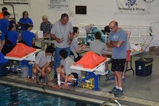 Underwater robotics team advances to international competition