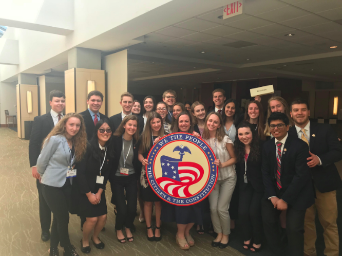 We the People team competes in nation's capital