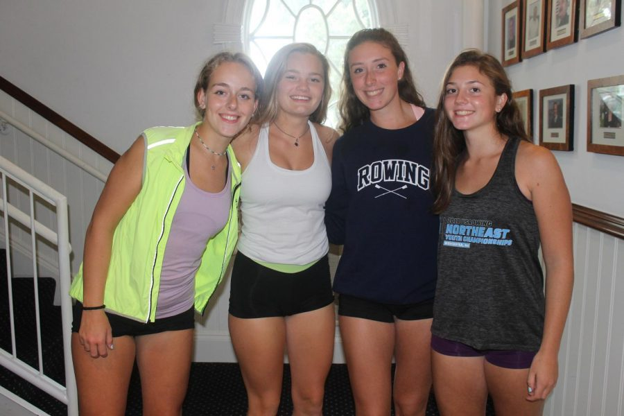 Saugatuck Rowing Club girls race for back-to-back wins at nationals