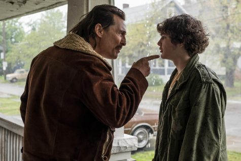 September 11, 2018 - Richie Merritt (White Boy Rick, right) and Matthew McConaughey (Richard Wershe Sr.) star in Columbia Pictures' and Studio 8's WHITE BOY RICK. from Sony publicity site