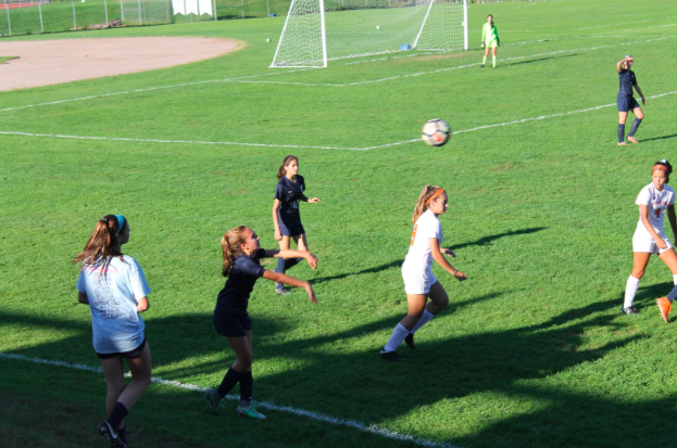 Girls' soccer celebrates victorious senior day