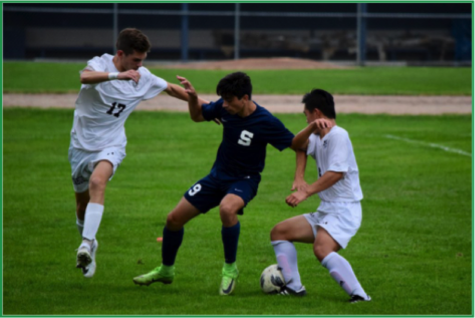 Boys' soccer takes down McMahon at home