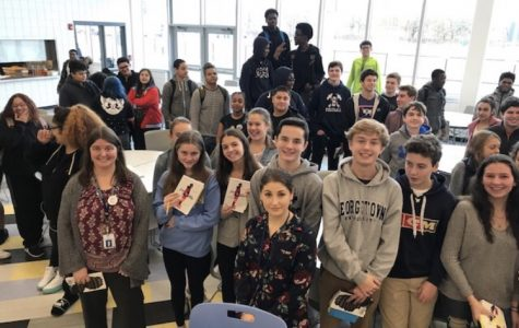Sophomore English classes venture to Bridgeport for book talk