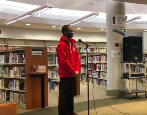 Poetry Out Loud contest attracts new contestants