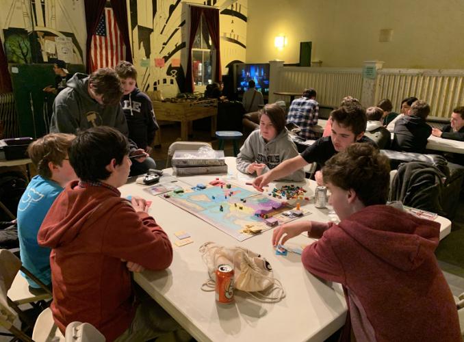"""Toquet Hall arranges """"Game Night"""""""
