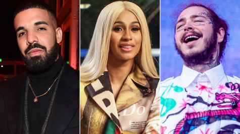 Hip hop artists dominate 2018