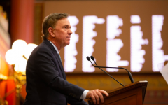 Governor Ned Lamont (pictured) discussing and easing concerns about his school redistricting proposal in a meeting with the First Selectmen throughout Connecticut.