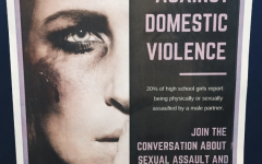 The Women in Society class posted posters throughout the school to promote the event.