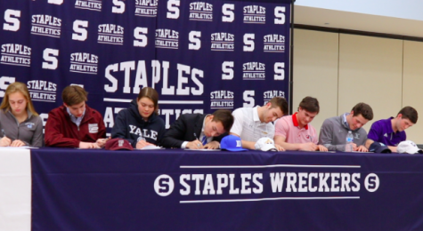Seniors celebrate commitment to NCAA on National Signing Day