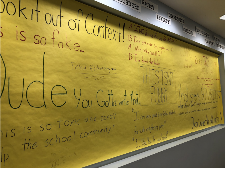 Contemporary World class engages students with activism boards