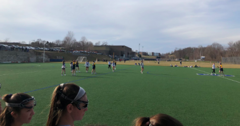 Girls' field hockey secures third consecutive state victory