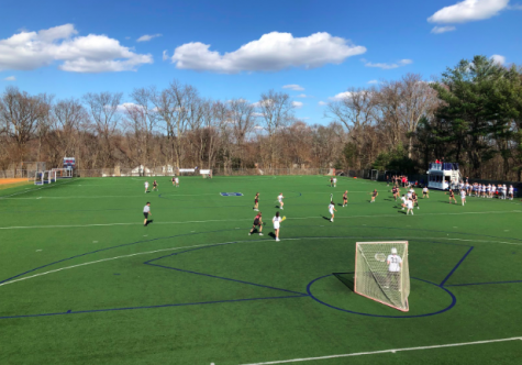 "On April 6, Staples girls' lacrosse hosted ""A Game for Gus"" to honor the memory of Gus Cardello '17. Fundraising was done all week, with all proceeds going to the Gus Cardello Memorial Scholarship Fund."