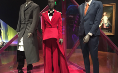The Museum of Fine Arts, Boston showcases their temporary Gender Bending Fashion exhibit that features many famous pieces worn by actors and musicians throughout history.