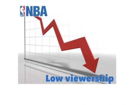 The number of viewers for the NBA playoff as a whole is down 14% and the NBA Finals are down 25% compared to previous years.