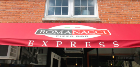 Romanacci, a new pizza restaurant, comes to the Westport train station.