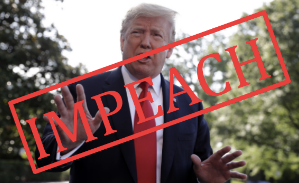 Booked For Impeachment? If Impeached, Donald Trump would become the third President to be impeached. For Trump to be impeached, the House of Representatives needs two-thirds of Representatives to vote for impeachment. After this vote, the Senate performs a trial to see if the President should be acquitted.