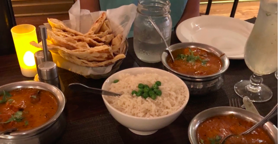 Located on 616 Post Road East in Westport, The Mumbai Times serves excellent spicy chicken tiki masala.