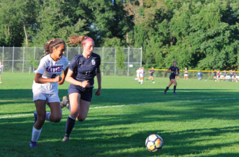Staples girls' soccer kicks into the season with a strong win