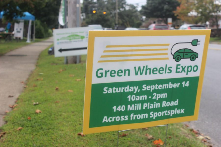 Sustainable Fairfield hosted the Green Wheels Expo on Sept 14. The event featured electric cars, an electric school bus and food truck, as well as several sustainable companies. Visitors were able to view the cars, talk to company representatives and test drive.