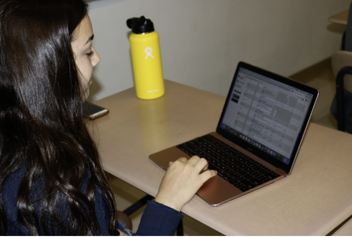 Students are constantly checking their grades on PowerSchool.