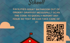Student Assembly hung up posters around Staples giving students an outlet to report issues with the maintenance of school facilities.