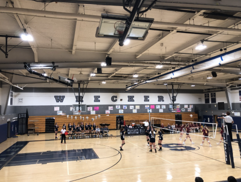 Staples girls volleyball team sweeps away St. Joes on senior night