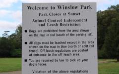Local dog walkers praise Winslow Park