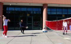 Badminton club swings into action