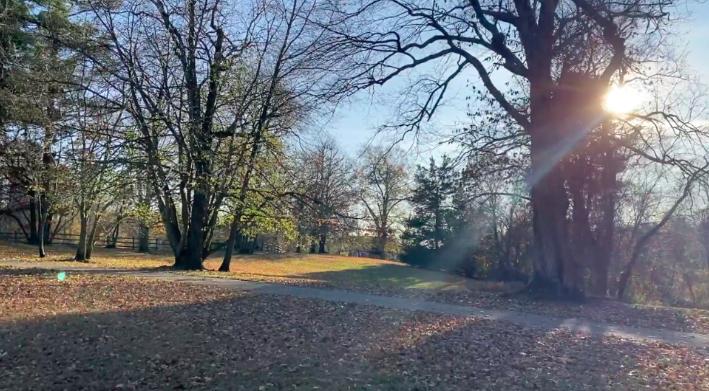 Winslow+Park+on+a+sunny+November+day.+