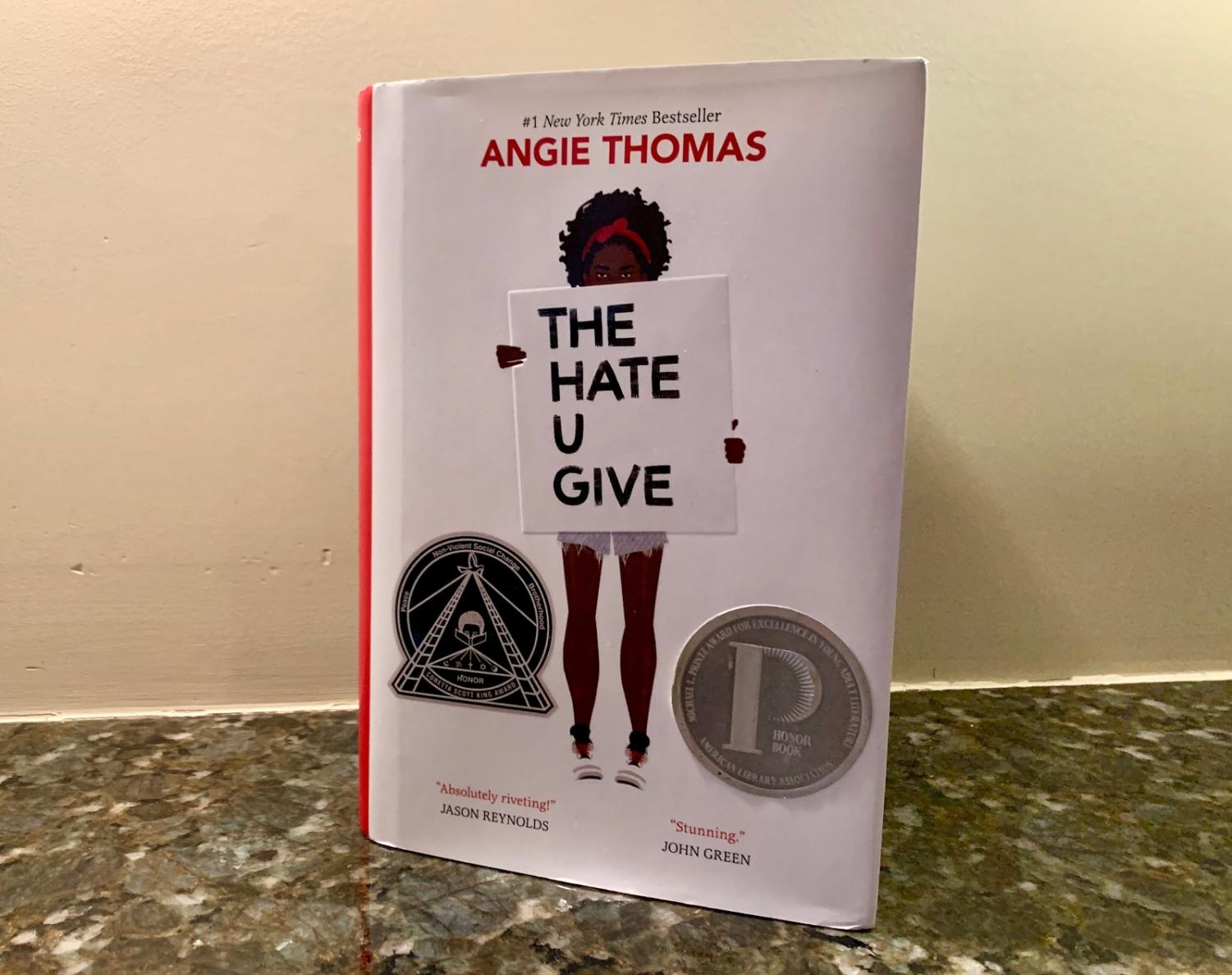 """""""The Hate U Give"""" by Angie Thomas is about an inner-city girl struggling with her experience with police brutality."""