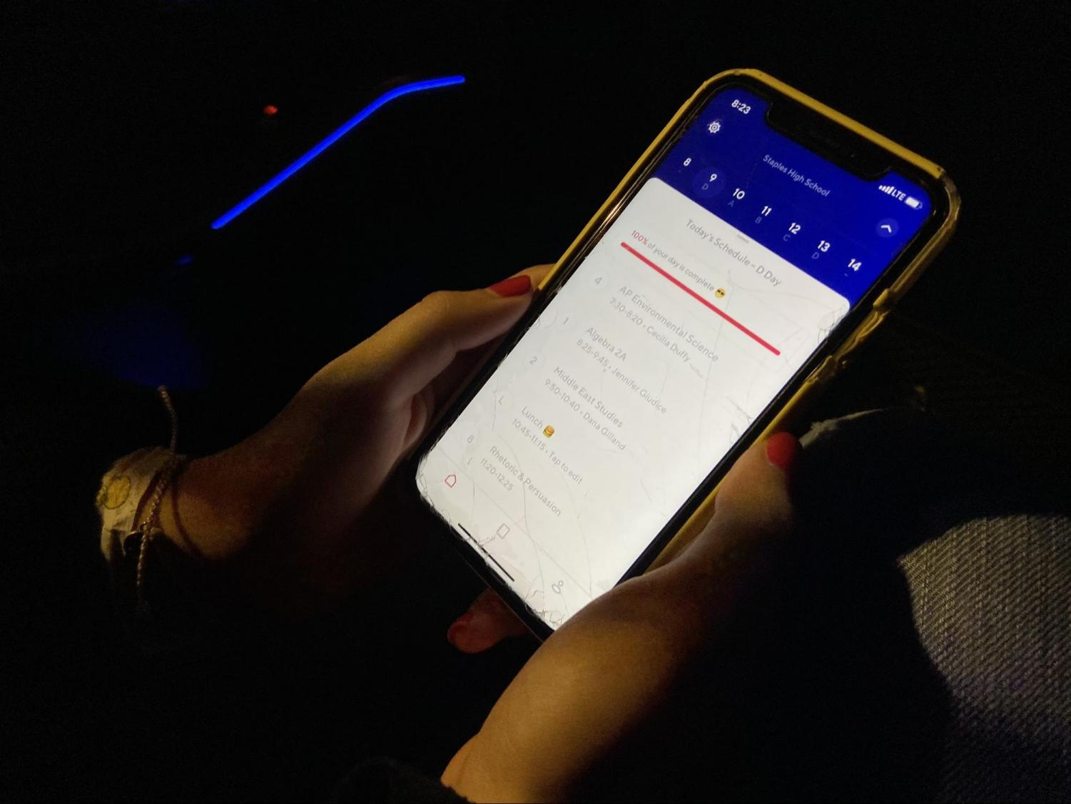 """On Dec. 3, Rishab Mandayam '21 posted a """"surprise"""" for Staples Superfans when they opened the iStaples app. Now, students are being directed to Saturn, an app for daily schedules."""