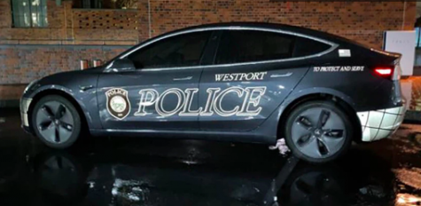 Westport Police Department purchases Tesla
