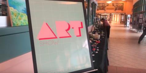 Staples' art classes showcase student work