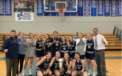 Staples girls' basketball team beat Bridgeport Central