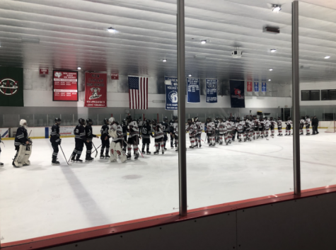 The Wreckers fell 6-1 to New Canaan on Wednesday, Jan. 8 in an FCIAC matchup at the Darien Ice House.