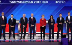 Democratic candidates vie for the Democratic nomination coming into 2020, Beto O'Rourke, Kamala Harris and Julián Castro have dropped out of this year's race.