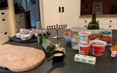 Using family recipes and time honored Hanukkah traditions, we put together and explained the importance of a few traditional dishes that one would typically eat during the holiday.