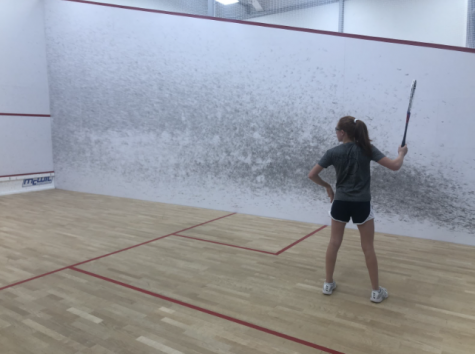 Squash is a racquet sport that has grown popular around the world but is neglected in the Staples community.