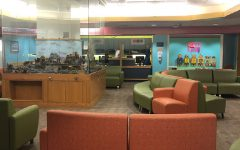 The pediatric waiting room at the Yale New Haven Children's Hospital lays empty as a result of the coronavirus.