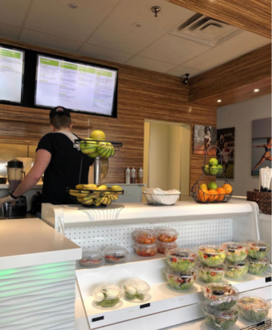 Saugatuck Fresh features the same food, drink and snack option as Embody once did, but at a slightly higher price. The store has the same organization style as Embody once did as well, and still offers a wide range of protein shake flavours to try.