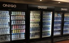 Cafeteria provides variety of water choices