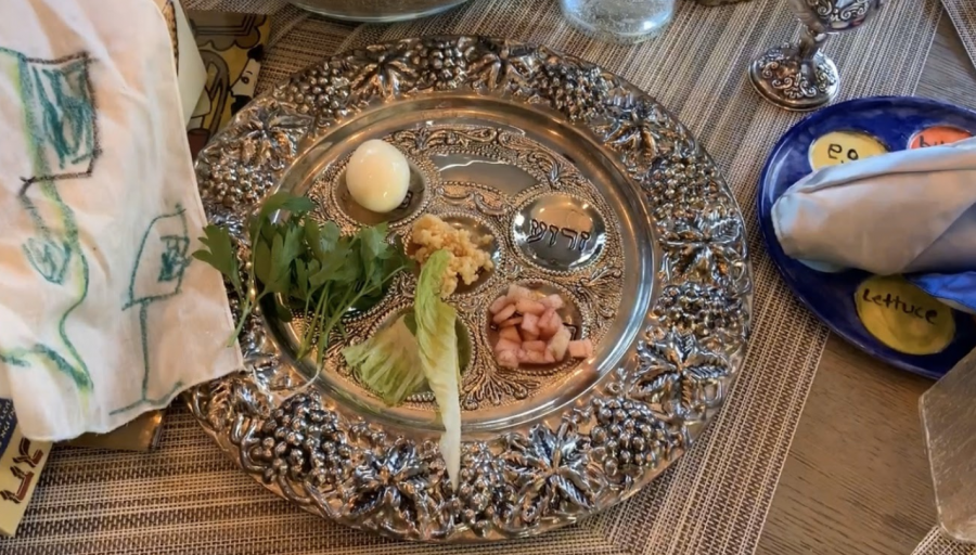 This+is+called+a+seder+plate+which+is+used+on+Passover.+Each+food+is+symbolic+to+the+story+of+Passover.+For+example%2C+parsley+is+a+bitter+herb+and+bitter+herbs+represent+the+bitterness+of+slavery.+