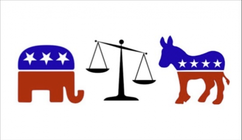 When covering a current event or reviewing an event in history, students and teachers' views can align with a political party, allowing for an opportunity to begin a debate.