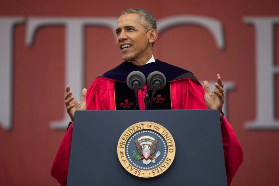 After+being+reached+by+Lincoln+Debenham%2C+former+Staples+student%2C+Barack+Obama+has+announced+that+he+will+be+presenting+a+commencement+speech+for+the+class+of+2020.
