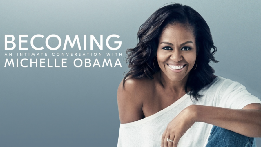 Michelle+Obama+documentary+%27Becoming%27+premiered+on+Netflix+on+May+6%2C+2020%2C+presenting+connections+with+her+bestseller+memoir.+