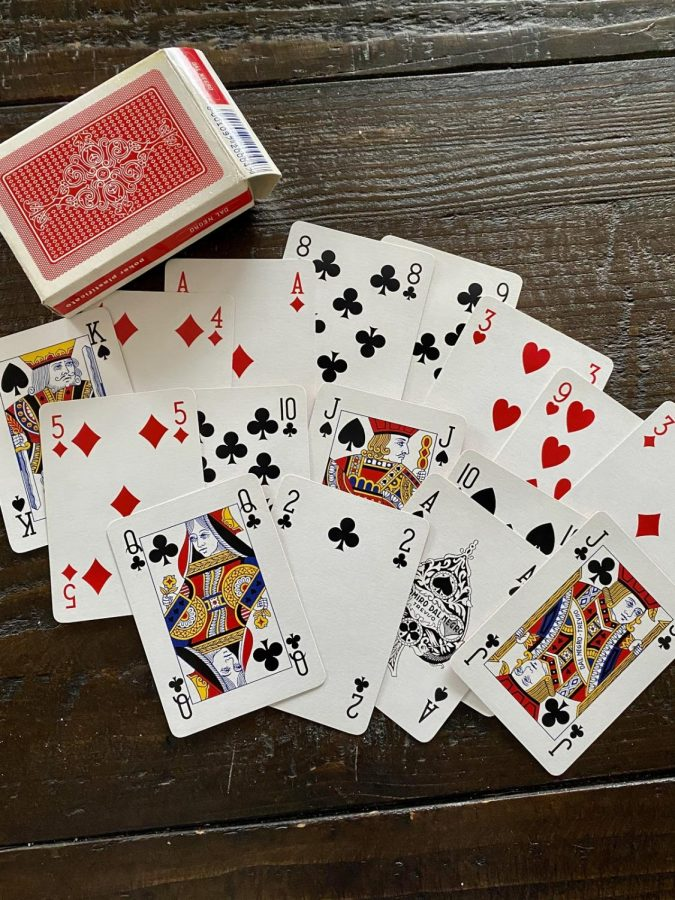 There+is+a+multitude+of+ways+to+make+use+of+a+card+deck+during+the+quarantine.+Try+some+of+these+games%3A+Hearts%2C+Crazy+8%E2%80%99s%2C+Spit%2C+Go+Fish%2C+War+and+Solitaire.