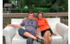 Nancy Wahler and her 21-year-old son Alex Wahler who has Autism and Epilepsy.